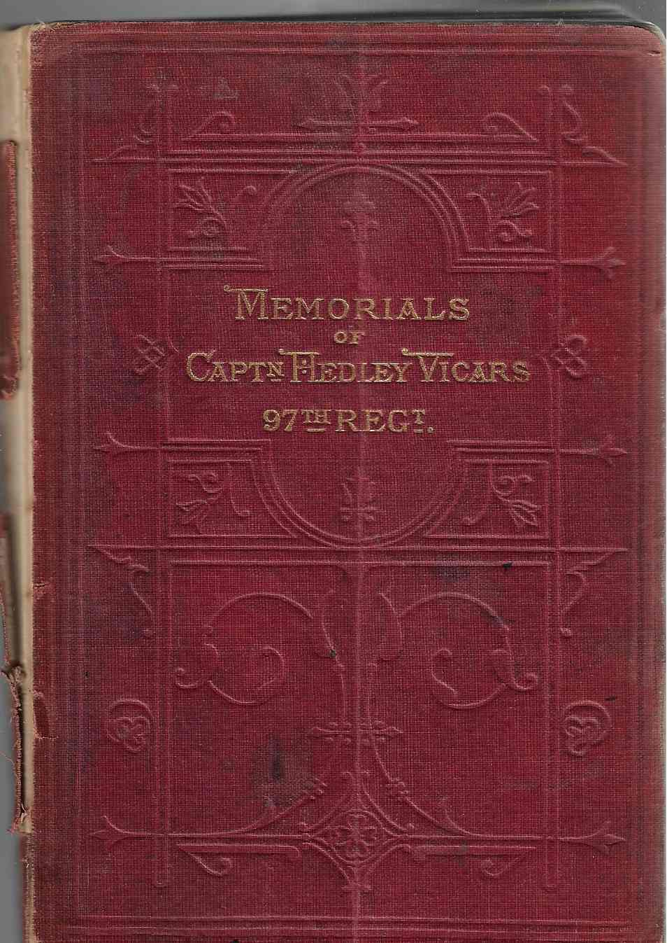 Image for Memorials of Captain Hedley Vicars, Ninety-Seventh Regiment