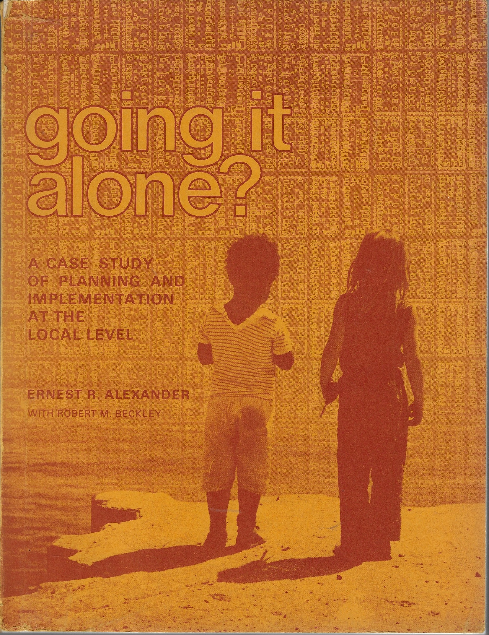 Image for Going it alone? A case study of planning and implementation at the local level