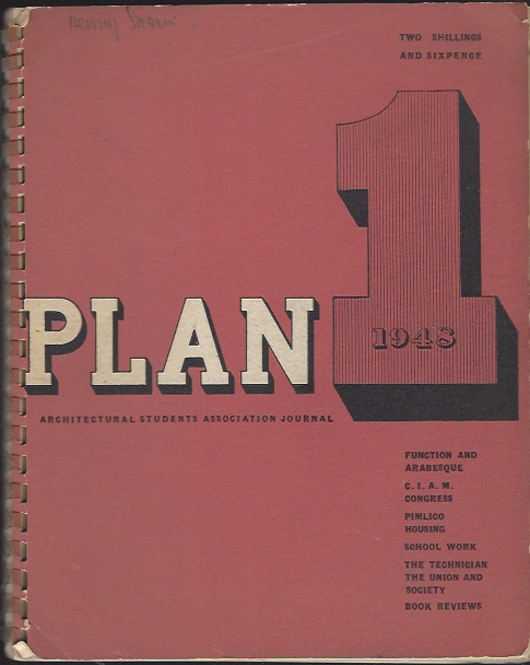 Image for Plan 1, 1948