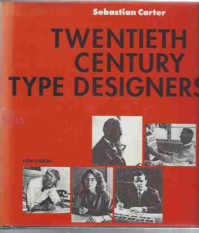 Image for Twentieth Century Type Designers
