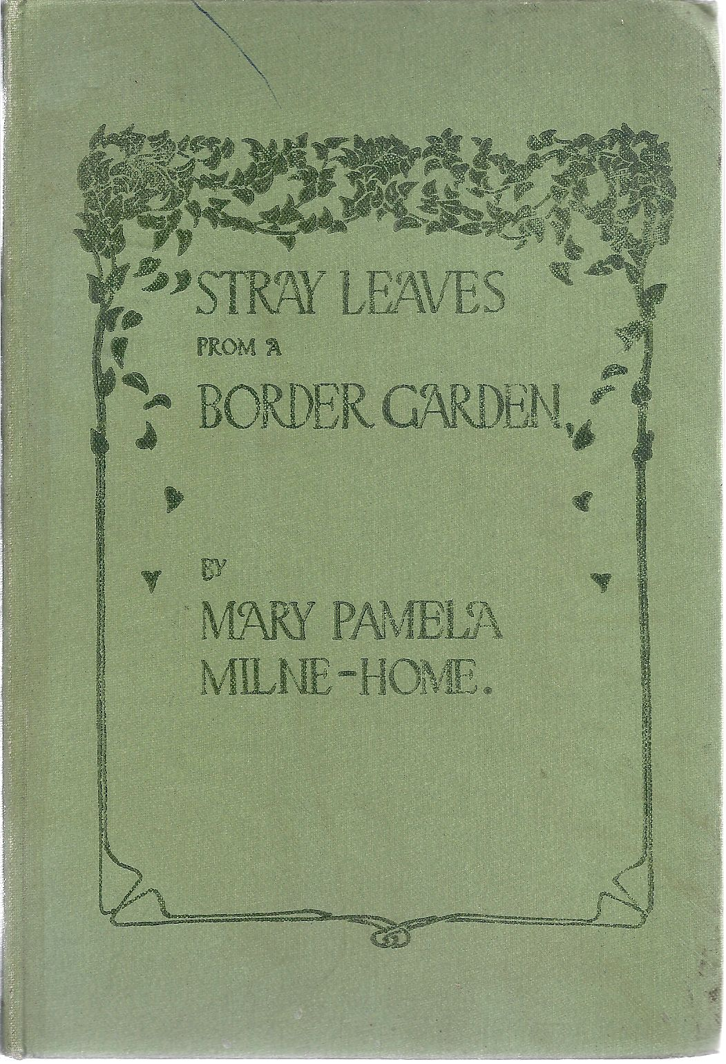Image for Stray Leaves From a Border Garden