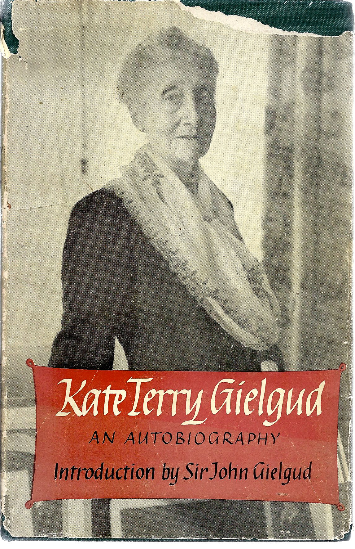 Image for Kate Terry Gielgud  an Autobiography