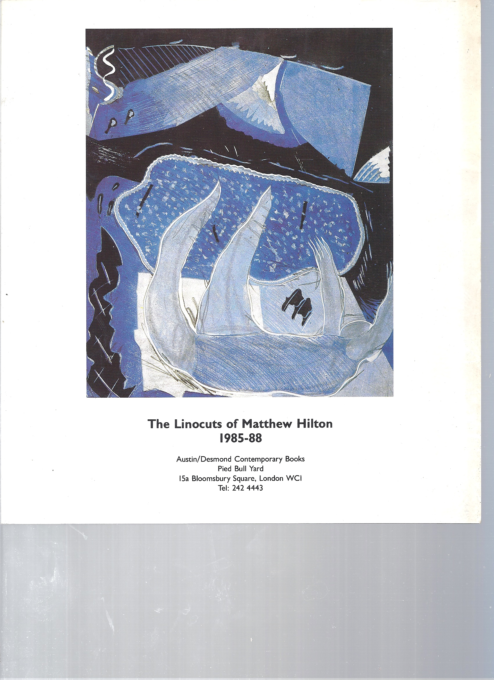 Image for The Linocuts of Matthew Hilton 1985-88