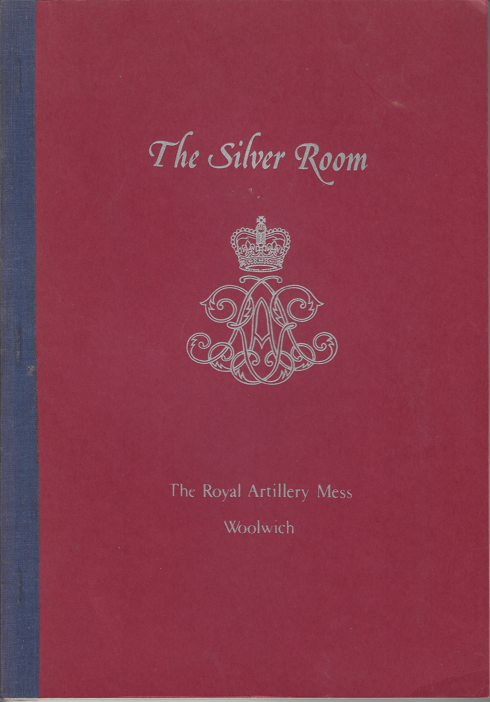 Image for The Silver Room, the Royal Artillery Mess, Woolwich
