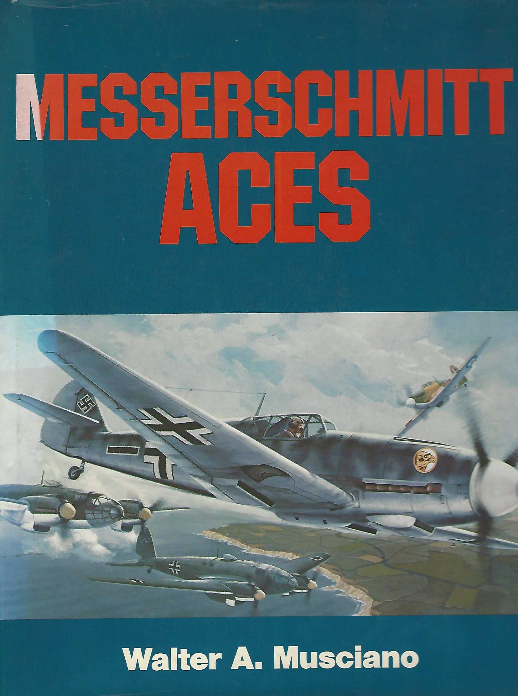Image for Messerschmitt Aces