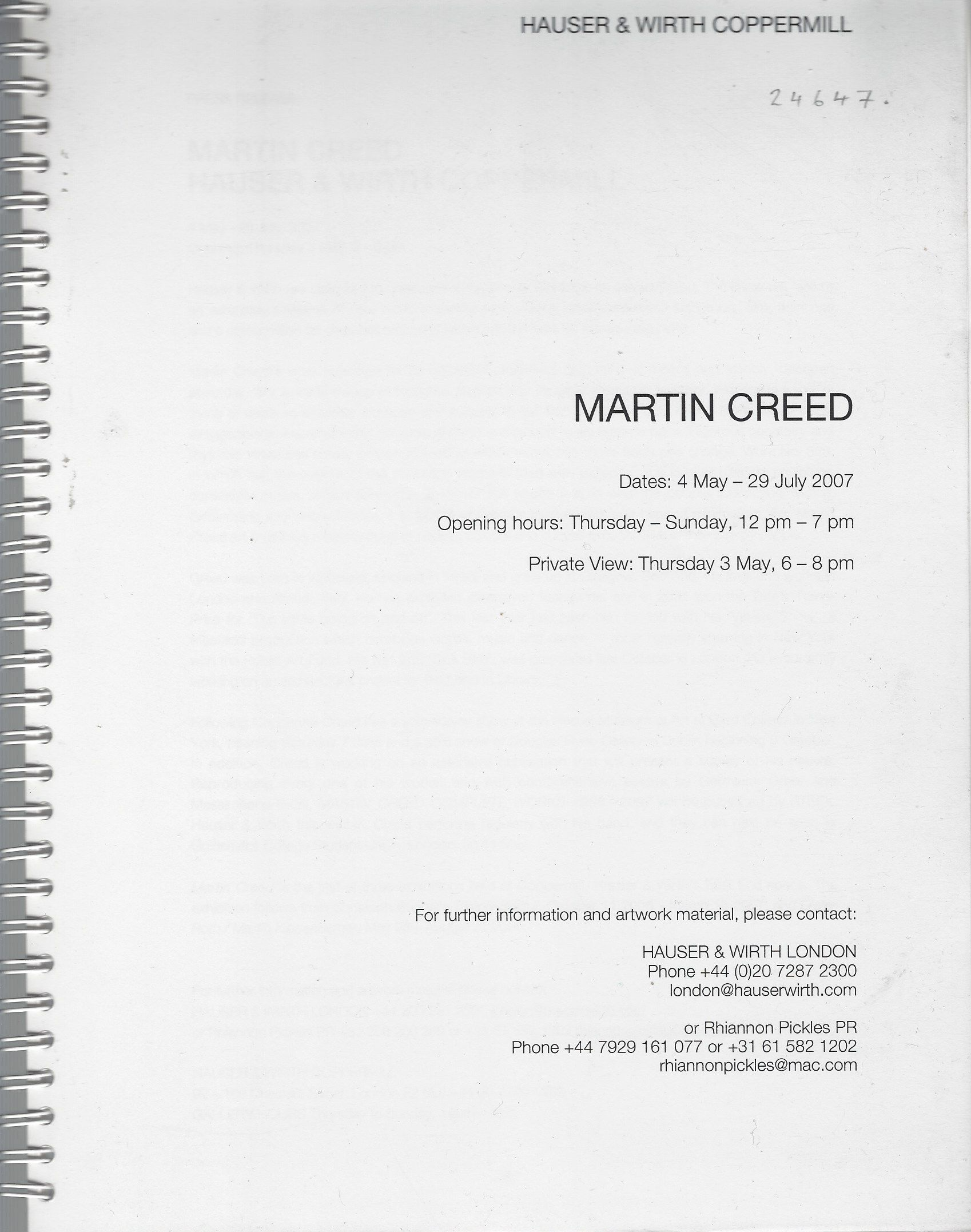 Image for Martin Creed