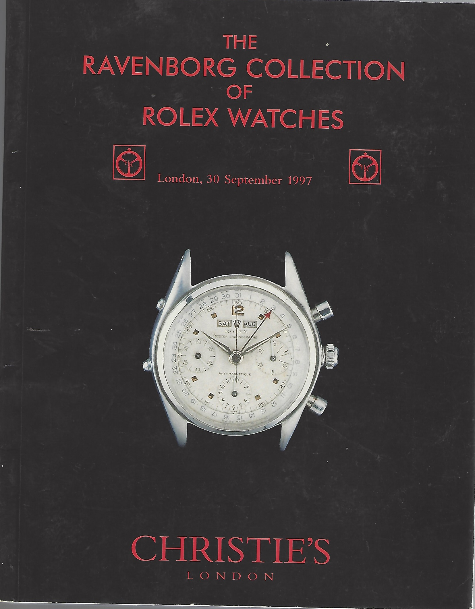 Image for The Ravenborg Collection of Rolex Watches London, 30 September 1997