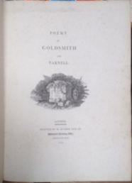 Image for Poems By Goldsmith And Parnell / The Chase. A Poem.
