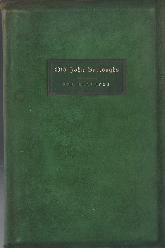 Image for Old John Burroughs
