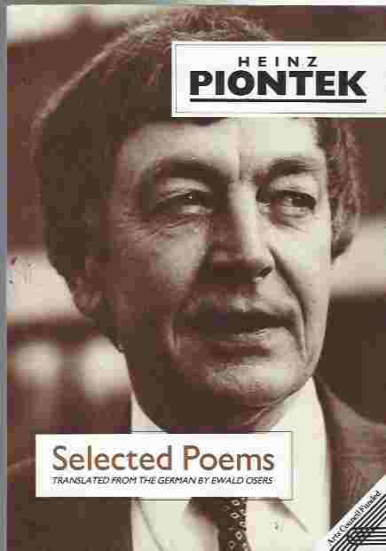 Image for Heinz Piontek  Selected Poems