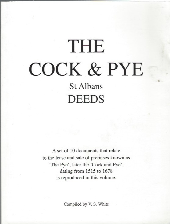 Image for The Cock and Pye, St Albans - Deeds