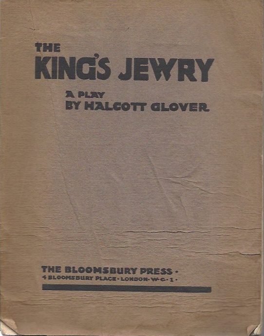 Image for The King's Jewry - a play