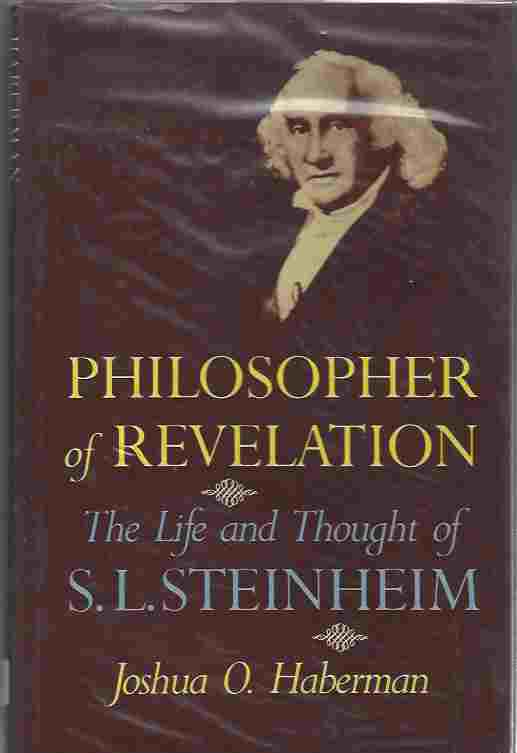 Image for Philosopher of Revelation  Life and Thought of S.L. Steinheim