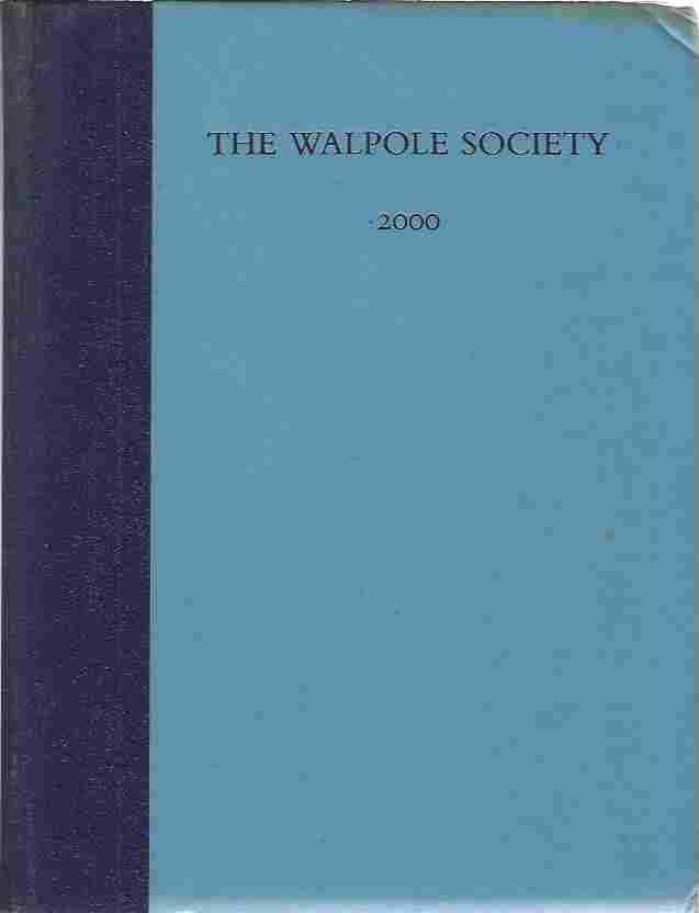 Image for The Sixty-second Volume of the Walpole Society 2000