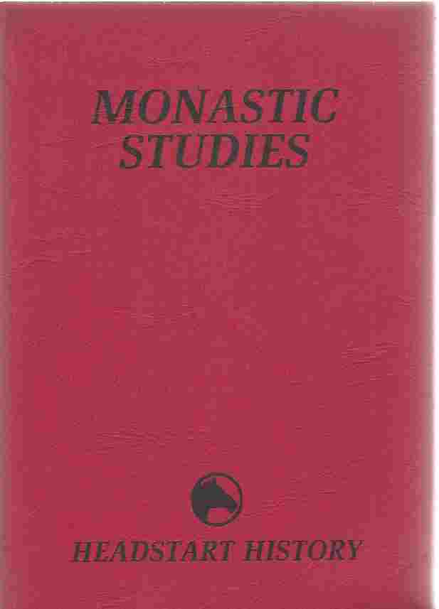 Image for Monastic Studies  The Continuity of Tradition