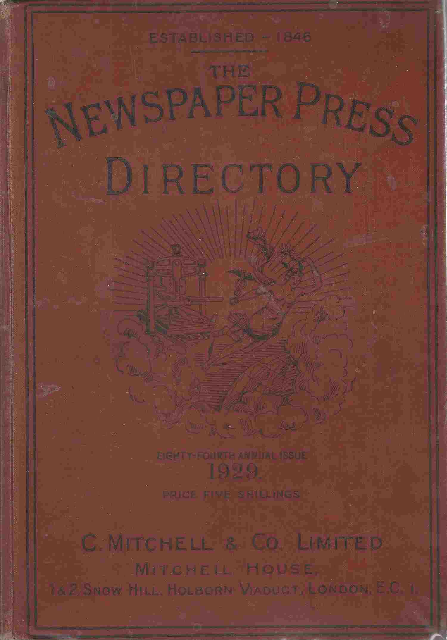 Image for The Newspaper Press Directory and Advertisers' Guide