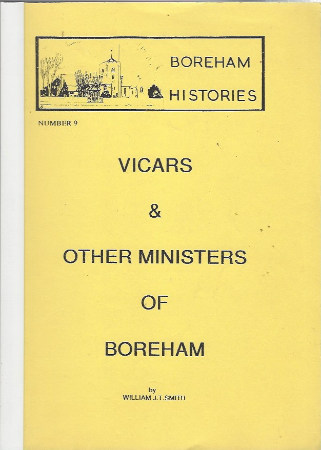 Image for Vicars & Other Ministers of Boreham