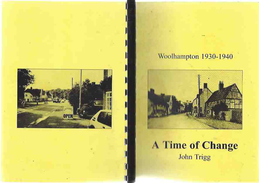 Image for Woolhampton 1930-1940: A Time of Change