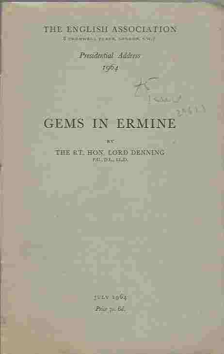 Image for Gems in ermine
