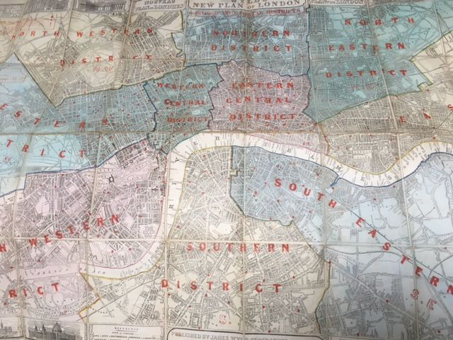 Image for Wyld's New Plan of London [Wyld's London and Postal Districts 1860]