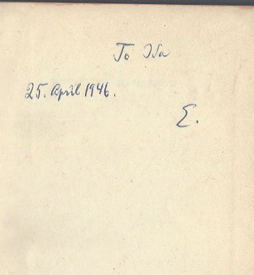 Image for Destiny Of To-Morrow [inscribed copy]