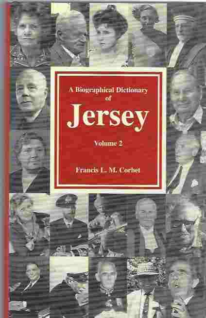 Image for A Biographical Dictionary of Jersey, Vol. 2