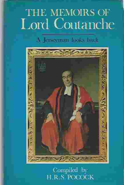 Image for The Memoirs of Lord Coutanche: A Jerseyman Looks Back