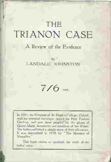 Image for The Trianon Case  A Review of the Evidence