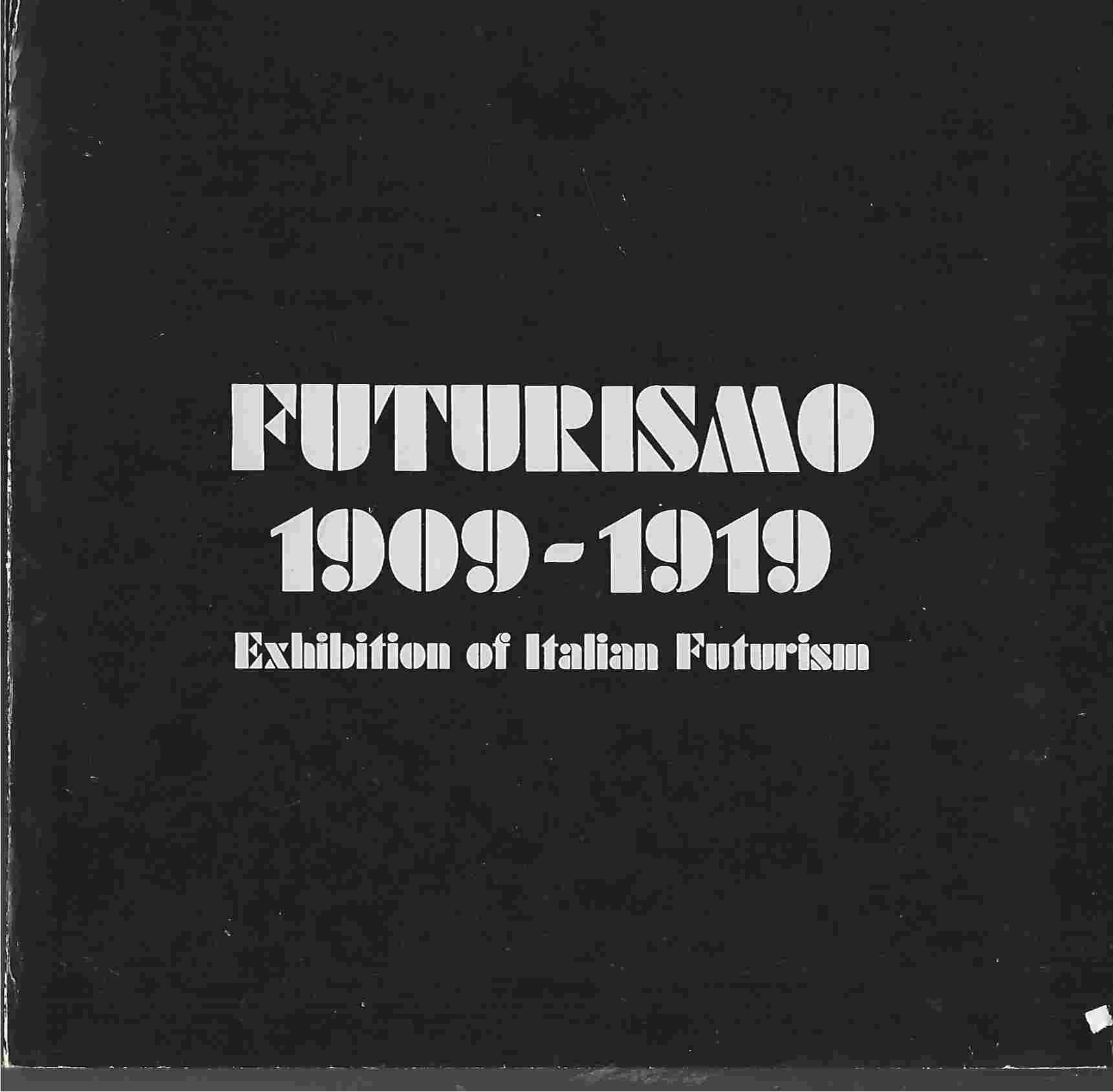 Image for Futurismo 1909-1919, Exhibition of Italian Futurism,