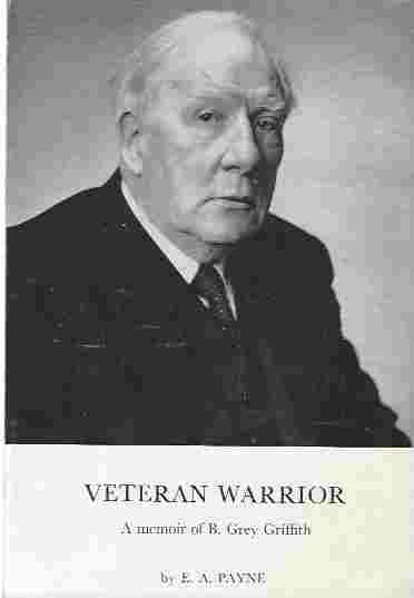 Image for Veteran Warrior. A Memoir of B. Grey Griffith