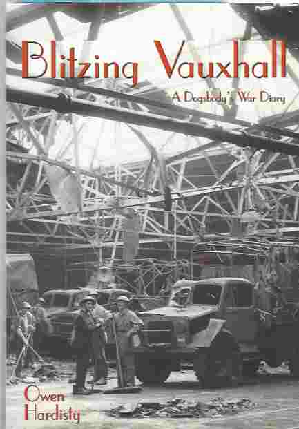 Image for Blitzing Vauxhall -- A Dogsbody's War Diary