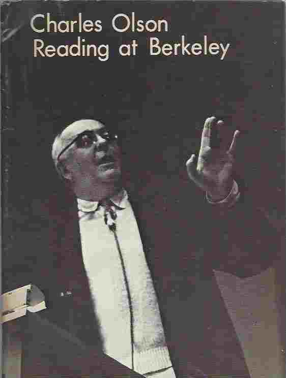 Image for Charles Olson Reading at Berkeley
