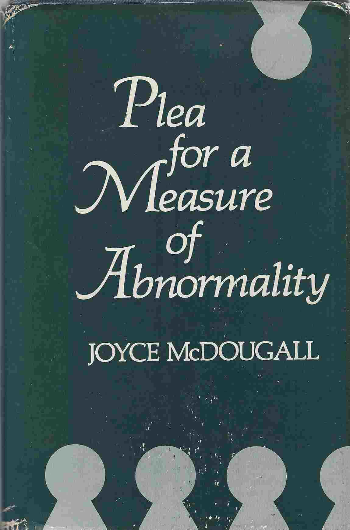 Image for Plea for a Measure of Abnormality