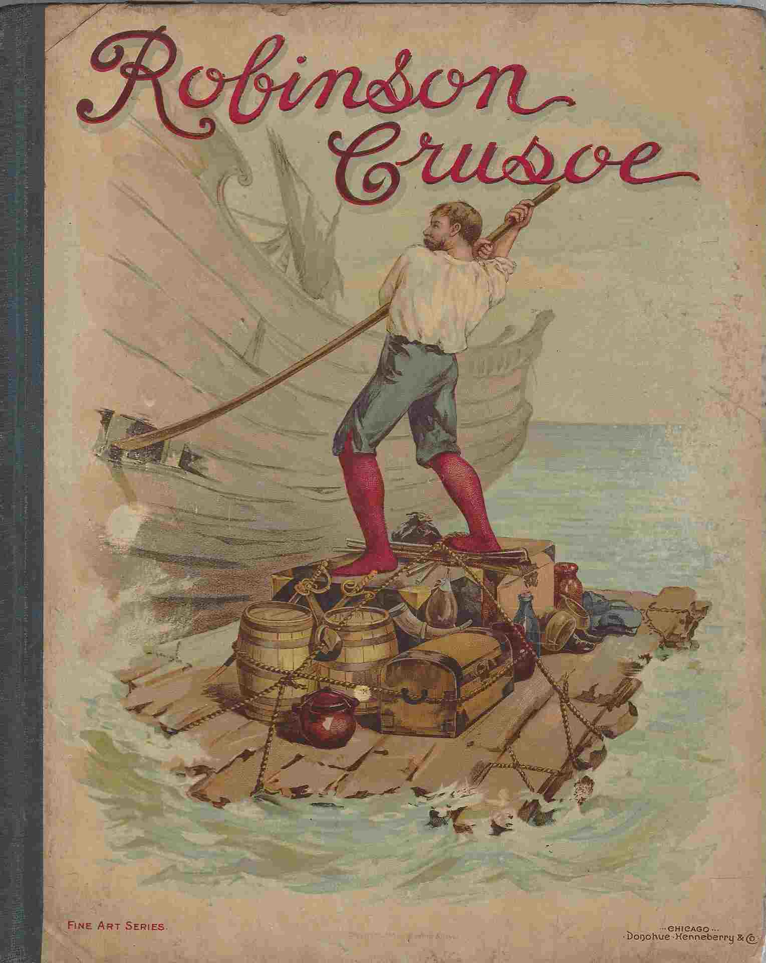 Image for The Strange and Surprising Adventures of Robinson Crusoe of York Mariner : Rewritten for Children