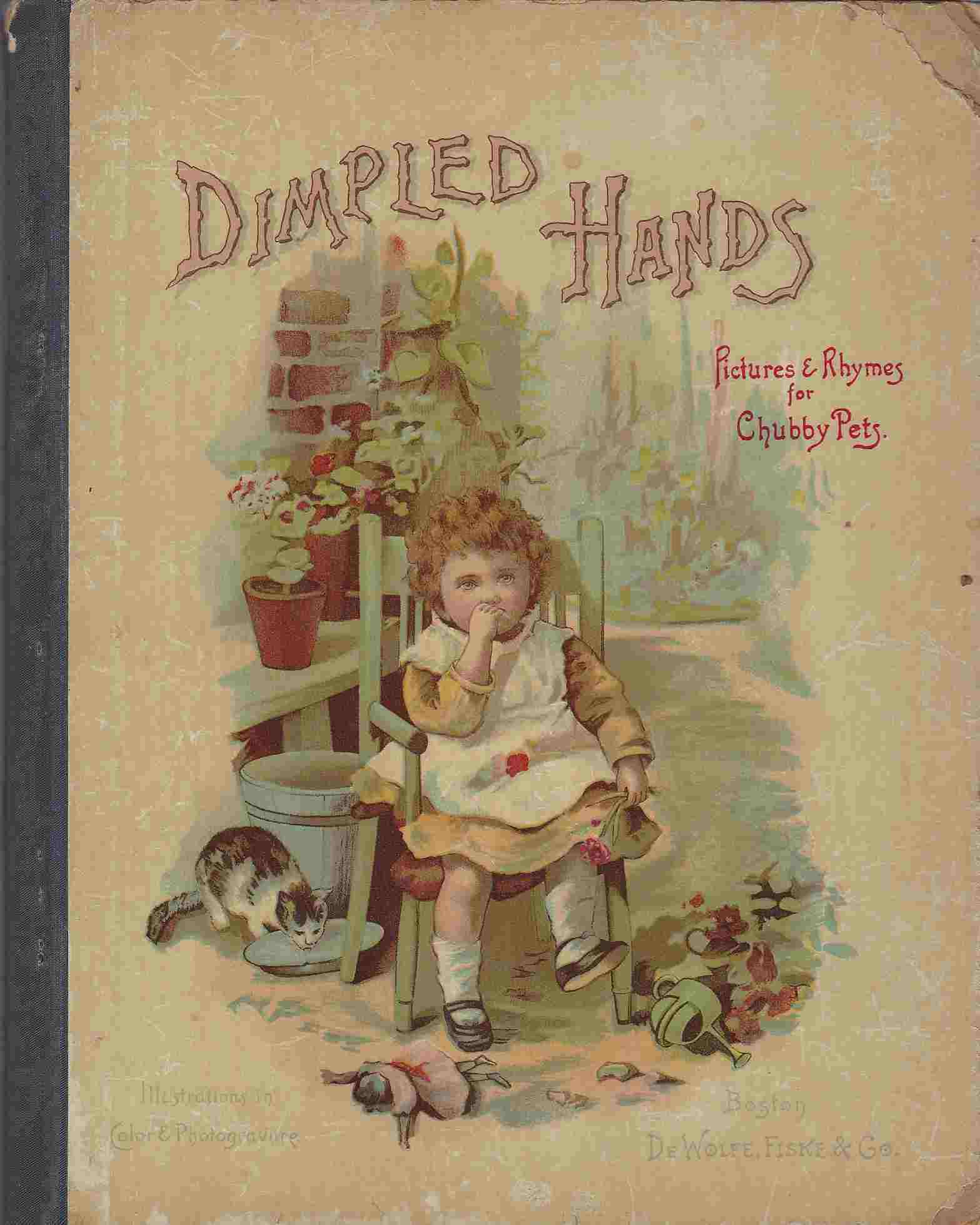 Image for Dimpled Hands : Pictures & Rhymes for Chubby Pets