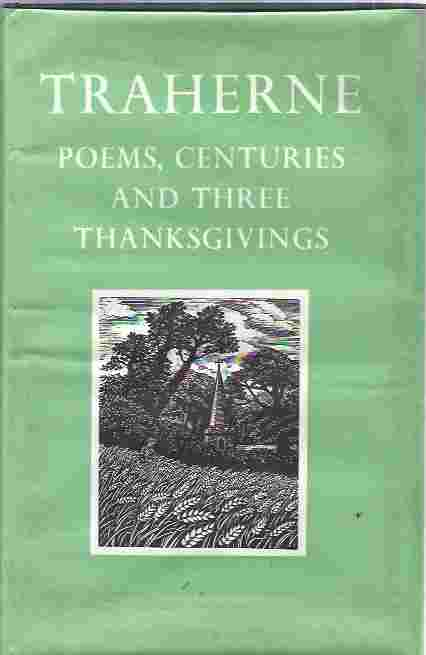Image for Thomas Traherne: Poems, Centuries, and Three Thanksgivings