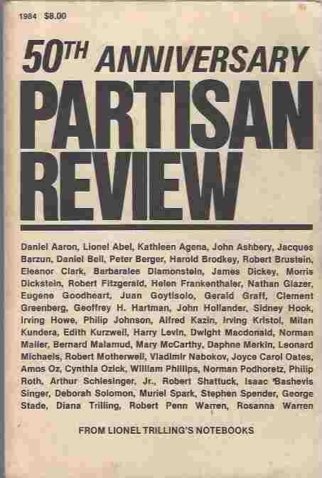 Image for Partisan Review 50th Anniversary Double Issue: No 4,1984, and No. 1, 1985