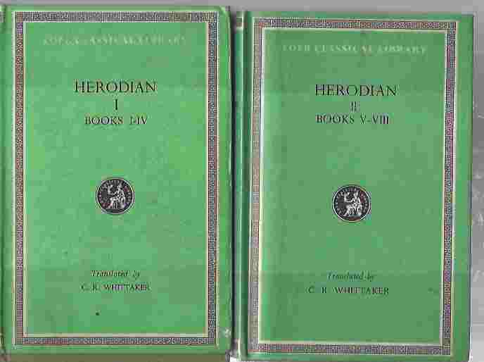 Image for Herodian. Vol I, Books I-IV; Vol II, Books V-VIII.