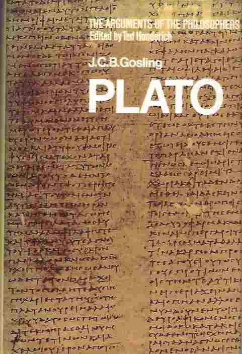 Image for Plato : The Arguments of the Philosophers Series