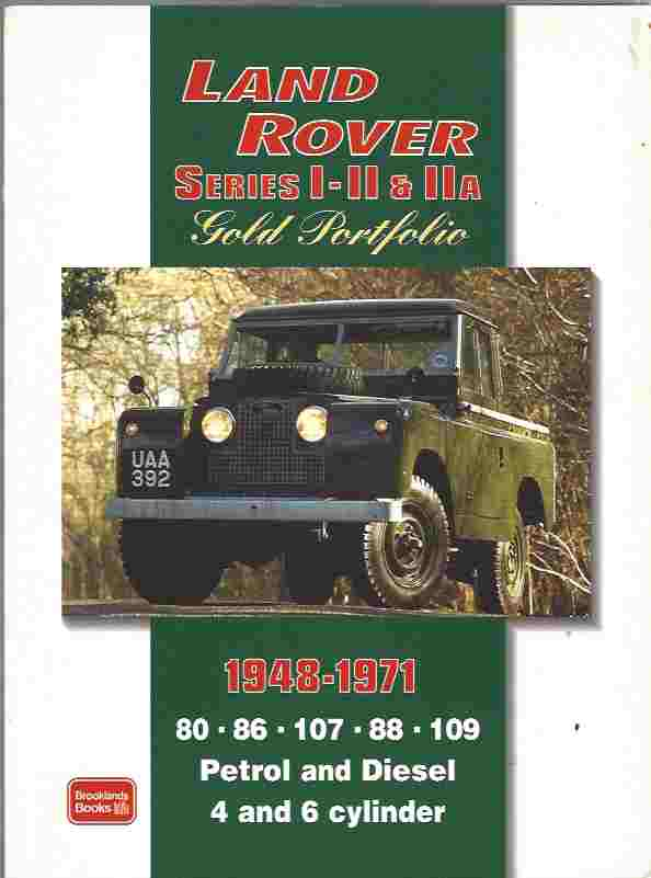 Image for Land Rover Series I, II, IIA Gold Portfolio 1948-1971