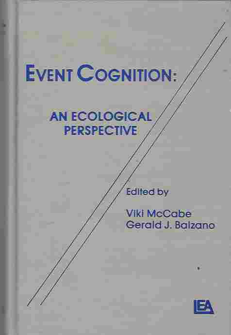 Image for Event Cognition  An Ecological Perspective