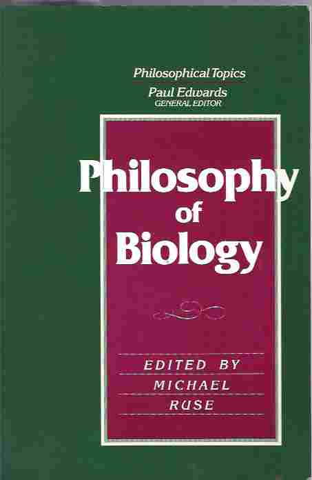 Image for Philosophy of Biology