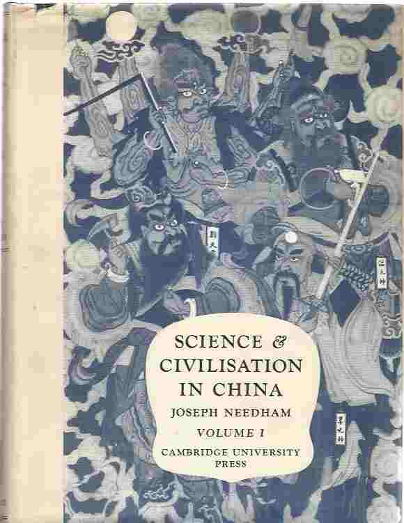 Image for Science And Civilisation In China. Vol I: Introductory Orientations