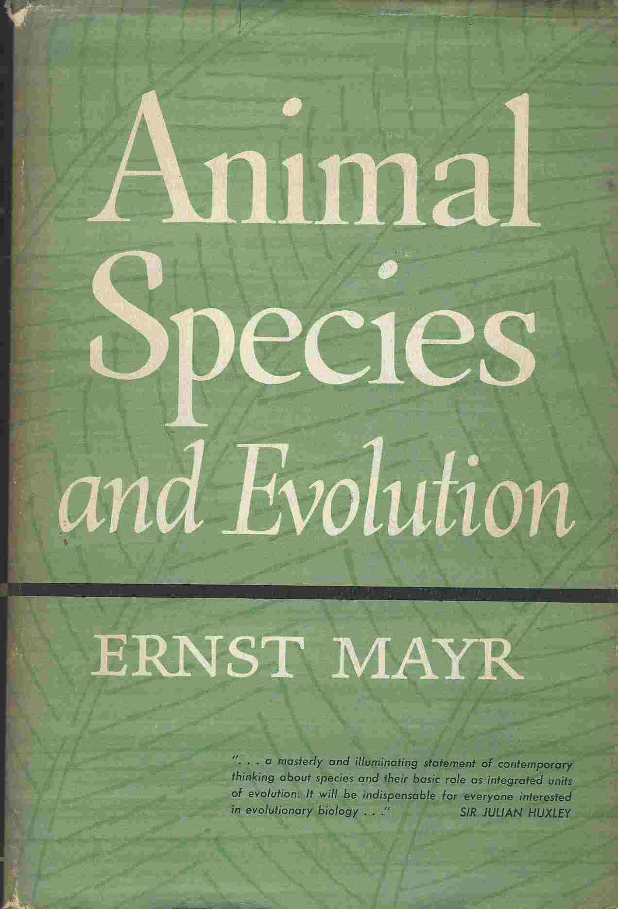 Image for Animal Species and Evolution by Ernst Mayr