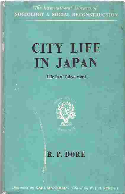 Image for City life in Japan  A Study of a Tokyo Ward