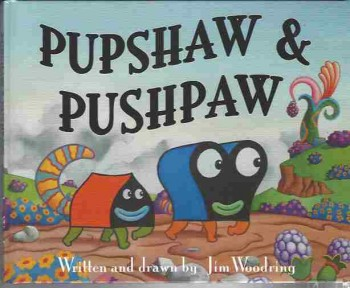 Image for Jim Woodring Pupshaw And Pushpaw #1