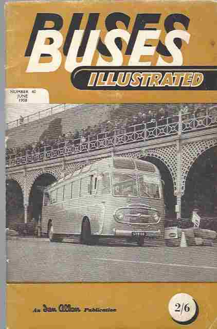 Image for Buses Illustrated No 40, June 1958