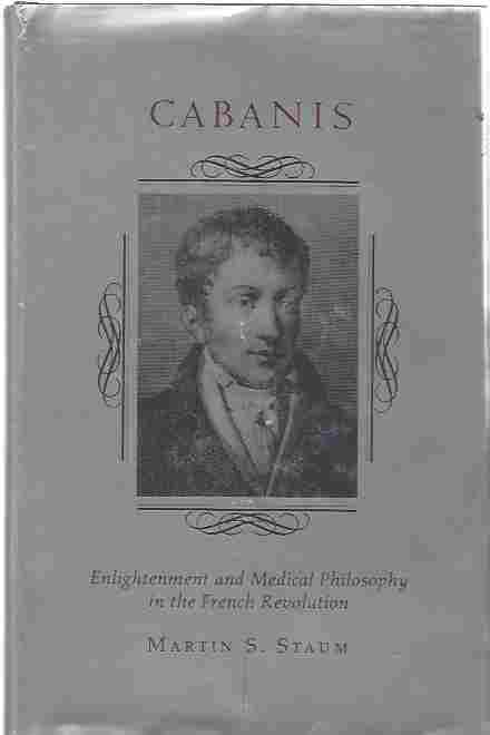 Image for Cabanis  Enlightenment and Medical Philosophy in the French Revolution