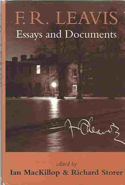 Image for F.R.Leavis  Essays and Documents