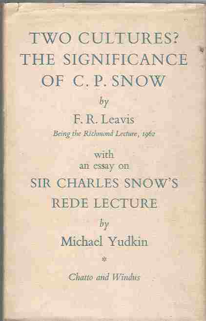 Image for Two Cultures?   The Significance of C. P. Snow